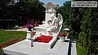 Пам'ятник з мармуру № 24, фото 2