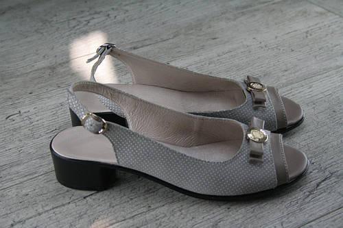 Босоножки женские, натуральная кожа, обувь летняя