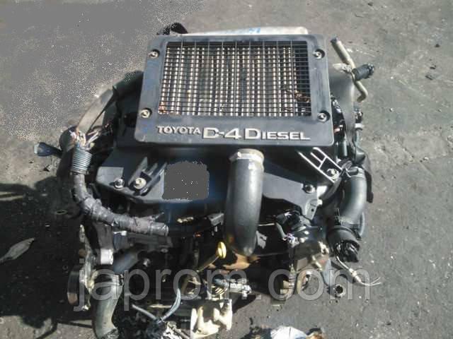 Мотор (Двигатель)  Toyota Rav4 2.0 D4D 116л.с  2005r