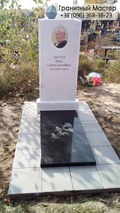 Пам'ятник з мармуру № 29