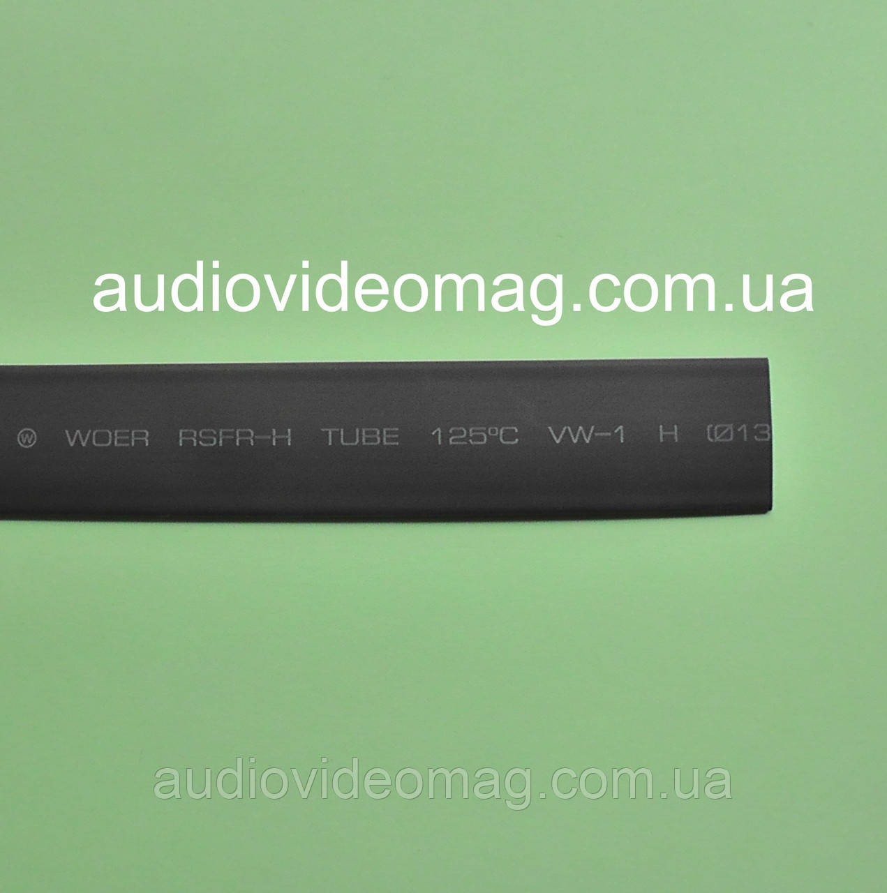 Термоусадочная трубка (2:1) - 13.0/6.5 мм, 1 метр, черная