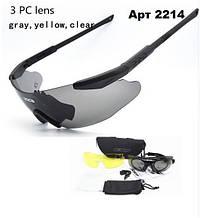 Тактичні окуляри ESS ICE зі змінними лінзами 3
