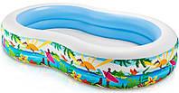 Надувной бассейн Райская Лагуна Intex 56490
