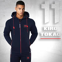 Kiro Tokao 137 | Спортивная толстовка темно-синяя
