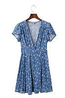 Нежное голубое платье, фото 1