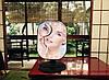 Косметичне дзеркало з підсвічуванням і збільшенням настільне біле, фото 8