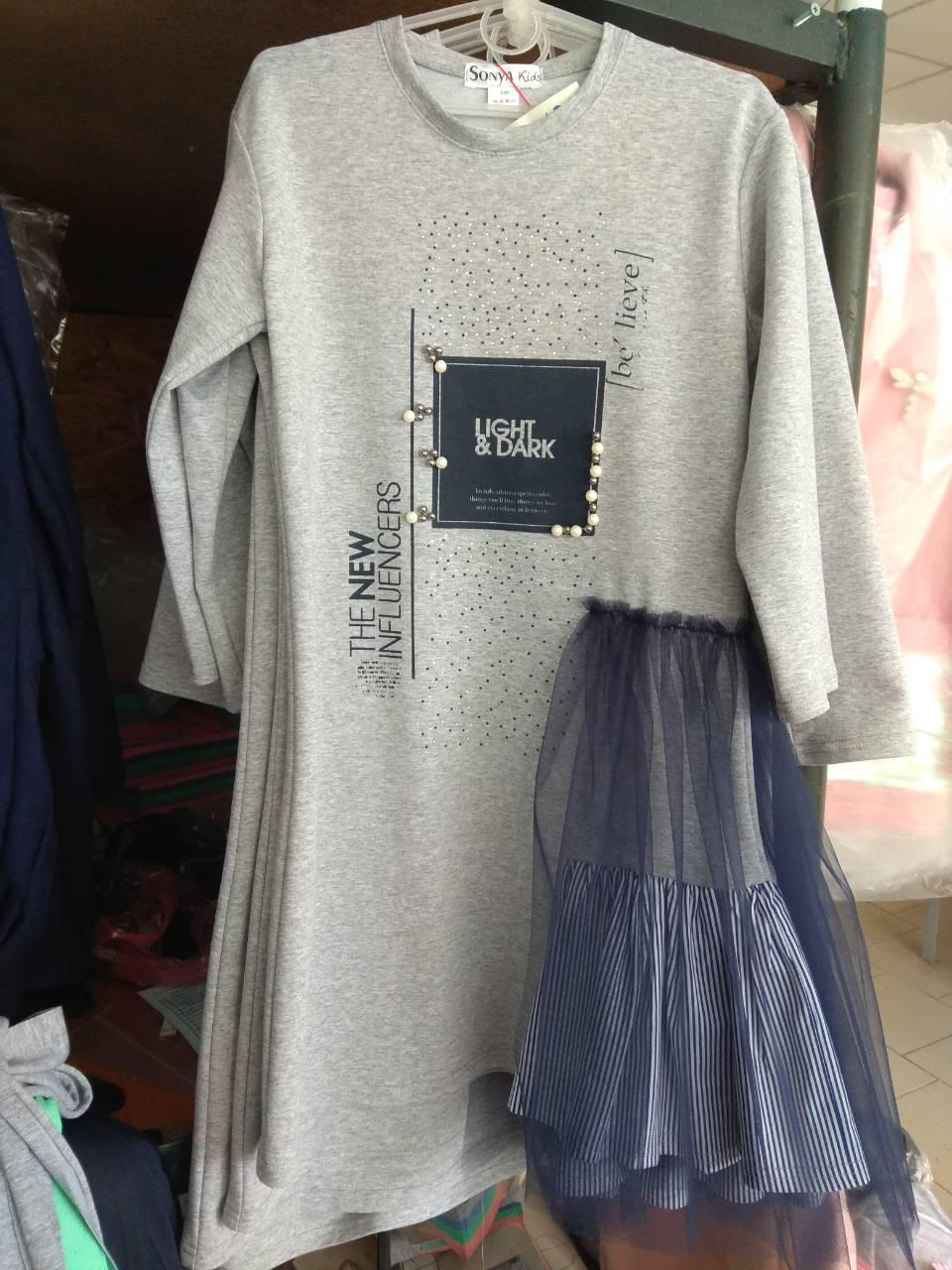 Детские платья подросток в ассортименте - Оптово-розничный магазин