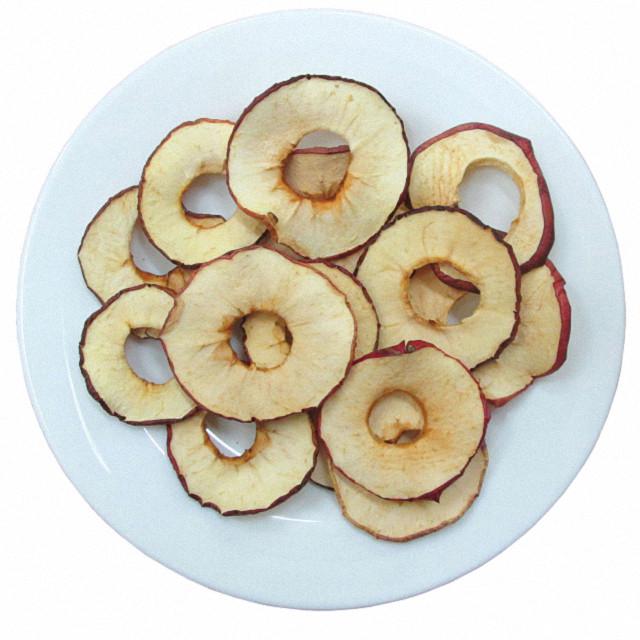 Чіпси яблучні з ваніліном