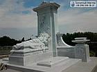 Пам'ятник з мармуру № 34, фото 3