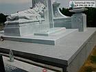 Пам'ятник з мармуру № 34, фото 5