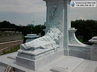 Памятник из мрамора № 34
