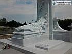 Пам'ятник з мармуру № 34, фото 6