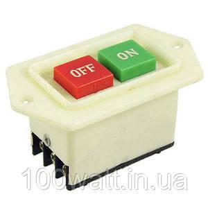 Кнопковий пост LC3-5 червона + зелена кнопки з фіксацією