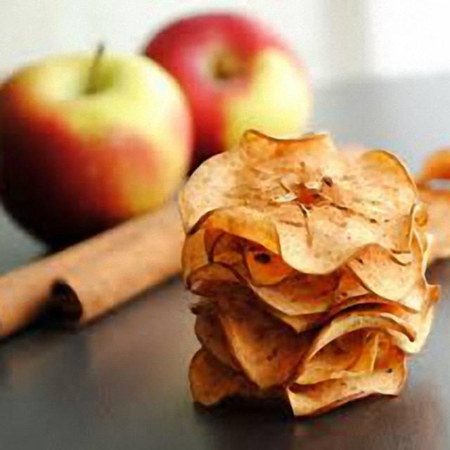 Чіпси яблучні з корицею, 50 г