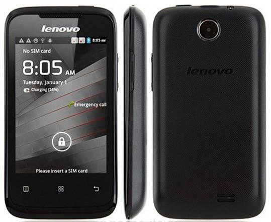 Смартфон ORIGINAL Lenovo A269i (0.25Gb+0.5Gb) MediaTek MT6575M Dual Core Android 2.3 (Black), фото 2