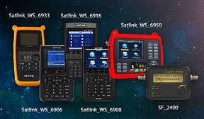 Прилади для налаштування супутникових антен