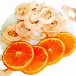 Чіпси яблучні з апельсиновим соком 50 г
