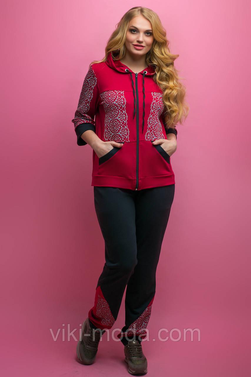 Спортивный костюм Кэри (бордовый)