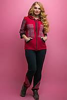 Спортивный костюм Кэри (бордовый), фото 1