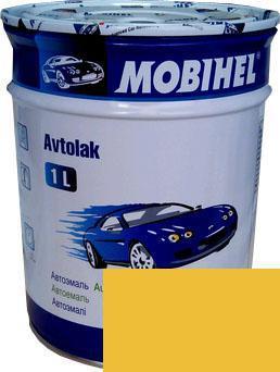 Автокраска 225 Желтая Helios Mobihel алкидная 1л