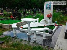 Памятник из мрамора № 42