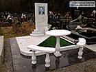 Пам'ятник з мармуру № 42, фото 2