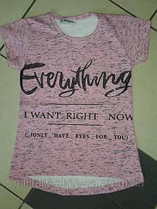 Летние футболки девочкам