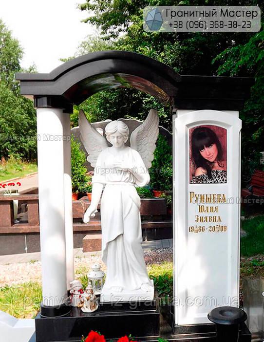 Памятник из мрамора № 49