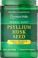 Шелуха семян подорожника (псиллиум) натуральная, Psyllium Husk Seed, Puritan's Pride, 227 грамм