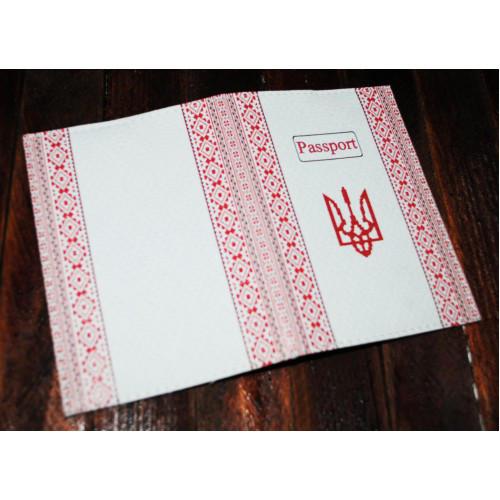 Обложка на паспорт Украина -Вышиванка-