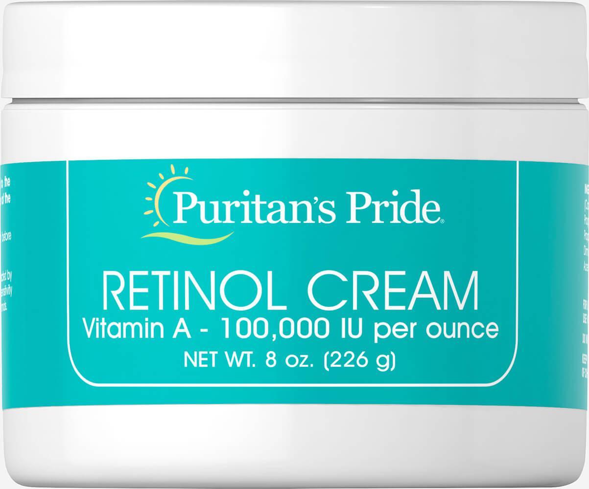 Крем с Ретинолом Retinol Cream (Витамином A), Puritan's Pride,226 мл