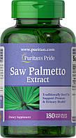 Со Пальметто, Saw Palmetto 1000 mg, Puritan's Pride, 180 капсул