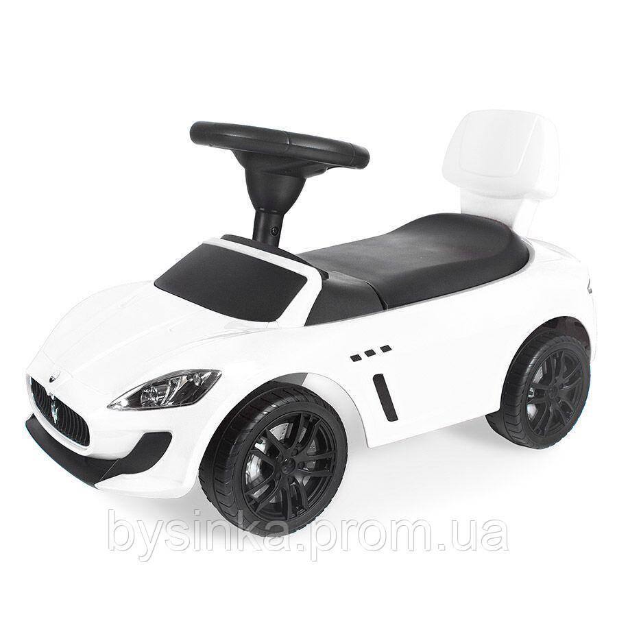 Машинка-каталка-толокар Maserati (белая)