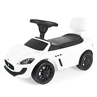 Машинка-каталка-толокар Maserati (белая) , фото 1
