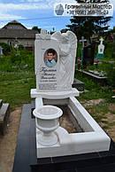 Памятник из мрамора № 57