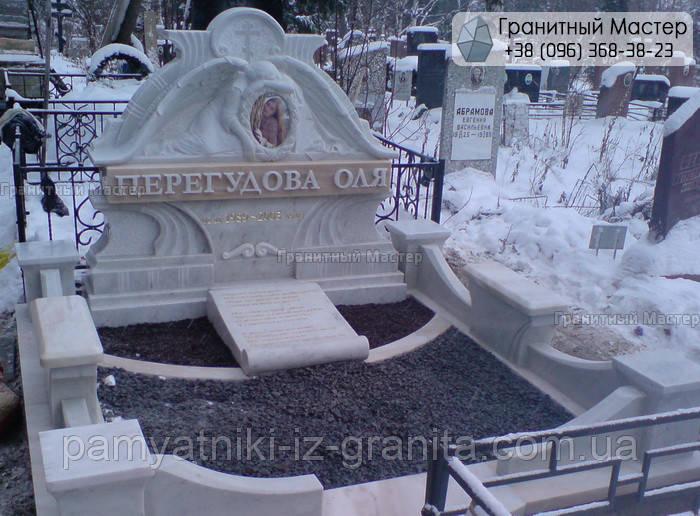 Памятник из мрамора № 59