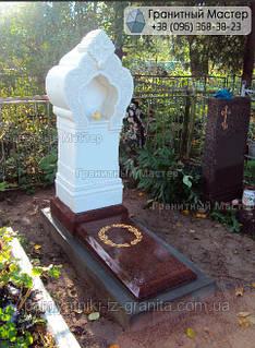 Памятник из мрамора № 60