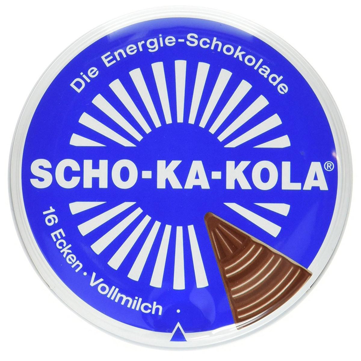 Энергетический шоколад, цельное молоко Scho-Ka-Kola 100г 40505