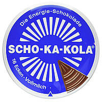 Энергетический шоколад, цельное молоко Scho-Ka-Kola 100г 40505, фото 1