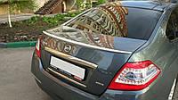 Спойлер багажника ( лип спойлер, сабля, утиный хвостик) Nissan Teana 2008-2014 г.в. АБС пластик