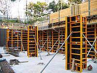 Опалубка колонн, стен, фундаментов