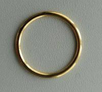Регулятор, кольцо бельевое для бретели, золото метал 19мм