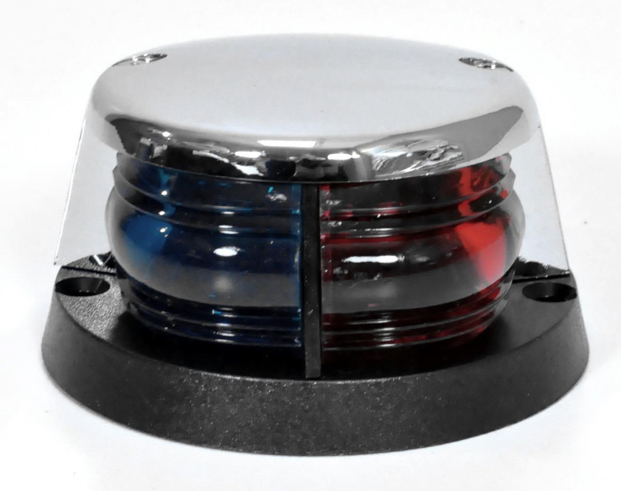 Навігаційний вогонь для човни, катери, яхти LED червоний-зелений 00154-LD