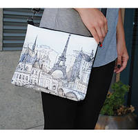 """Женская сумка """"Париж в графике"""""""
