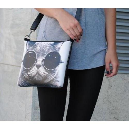 Женская сумка с принтом