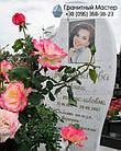 Пам'ятник з мармуру № 76, фото 3