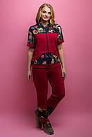 Спортивный костюм Амбрелла (бордовый), фото 1