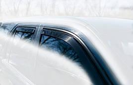 Дефлектори вікон (вітровики) Volvo XC90 2003 -> 4D 4шт (Heko)