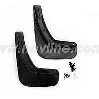 Модельные задние брызговики MAZDA CX5 с 2012-   2шт/цвет:черный (производитель NovLine)