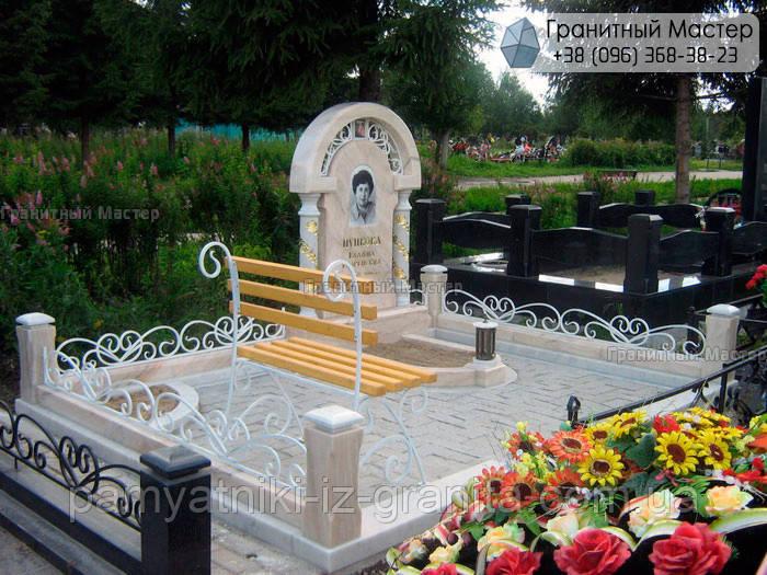 Памятник из мрамора № 89